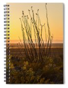 Dog Canyon Sunset Spiral Notebook