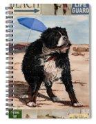 Dog Days Of Summer V2 Spiral Notebook