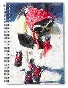 Dog Daze 8 Spiral Notebook