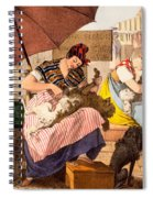 Dog Groomers, 1820 Spiral Notebook