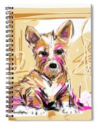 dog I did not make this mess Spiral Notebook