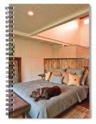 Dog In Luxury Spiral Notebook