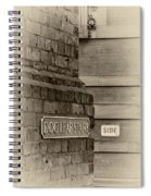 Dog Leap Stairs Spiral Notebook