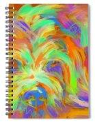 Dog Matze Spiral Notebook