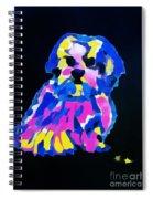 Dog-tibetin Lhasa Apsos Impression Spiral Notebook
