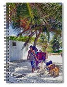 Dog Walker Spiral Notebook