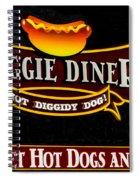 Doggie Diner Spiral Notebook