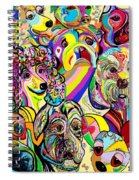 Dogs Dogs Dogs Spiral Notebook