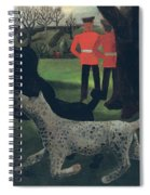 Dogs At Play Spiral Notebook