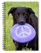 Dogs For Peace Spiral Notebook