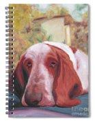 Dog's Portrait No 1 Spiral Notebook