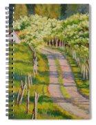 Dogwood Allee Spiral Notebook