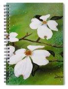 Dogwood Blossoms Spiral Notebook