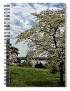 Dogwoods In Summer Spiral Notebook