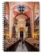 Dohany Street Synagogue In Budapest Spiral Notebook