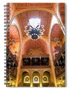 Dohany Synagogue In Budapest Spiral Notebook