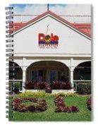 Dole Plantation 3 Spiral Notebook