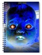 Doll Face Spiral Notebook
