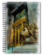 Dollar Bank Lion Pittsburgh Spiral Notebook