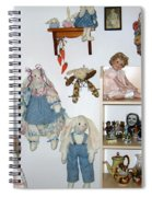Dolls And Such Spiral Notebook