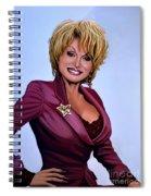 Dolly Parton Spiral Notebook