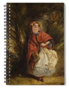 Dolly Vardon Spiral Notebook