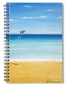 Dolphin Beach Spiral Notebook