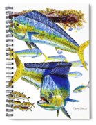 Dolphin In Weedline Spiral Notebook