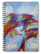 Dolphin Playjourney Spiral Notebook