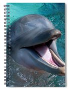 Dolphin Smile Spiral Notebook