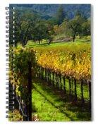 Domaine Chandon Vineyard Spiral Notebook