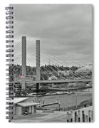 Dome And Bridge Spiral Notebook