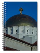 Dome At St Sophia Spiral Notebook