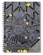 Dome District Spiral Notebook