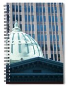 Dome Of Art Museum  Spiral Notebook