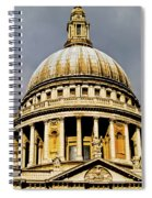 Dome Of St. Paul's Cathedral Spiral Notebook
