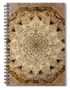 Dome Of The Hall Of The Two Sisters Spiral Notebook