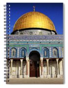 Dome Of The Rock Spiral Notebook