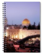 Dome - Twilight Spiral Notebook
