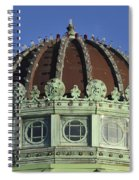 Dome Top Of Carousel House Asbury Park Nj Spiral Notebook