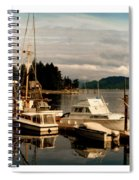 Domino At Alderbrook On Hood Canal Spiral Notebook