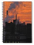 Domino Sugars Sunrise Spiral Notebook