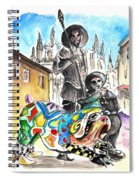 Don Quijotes New Pet Spiral Notebook