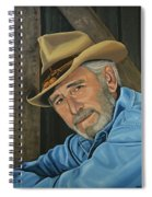 Don Williams Painting Spiral Notebook