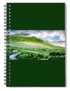 Donegal Hills Spiral Notebook