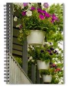Donna's Petunias Spiral Notebook