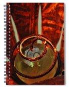Donna's Sun Flower 02 Spiral Notebook