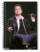 Donny Osmond Spiral Notebook
