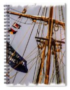 Don't Give Up The Ship Spiral Notebook
