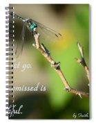 Don't Let Go Spiral Notebook